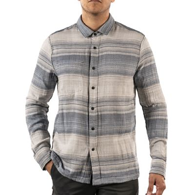 Jeremiah Men's Stag Reversible Plaid Stripe Shirt