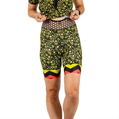 Shebeest Women's Petunia Bib Short