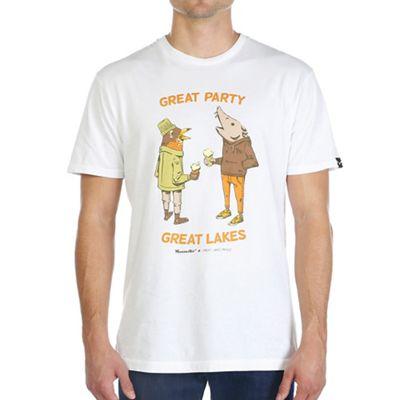 Moosejaw Men's Great Lakes Proud Collab Vintage Regs SS Tee