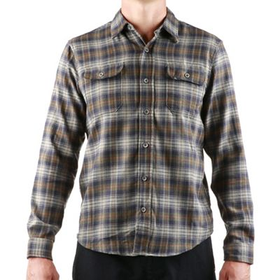 Tailor Vintage Men's Fast-Dry Plaid Stretch Performance Flannel Two Pocket Shirt