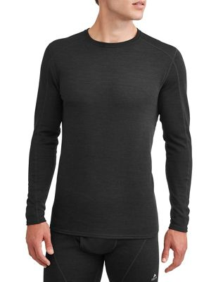 Ozark Trail Men's Wool Blend Baselayer Crew