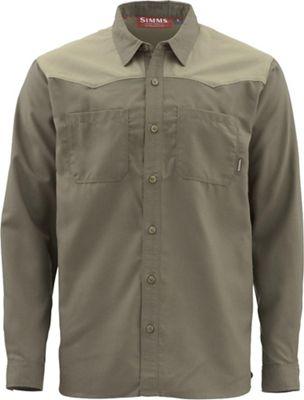 Simms Men's Blacks Ford Flannel LS Shirt