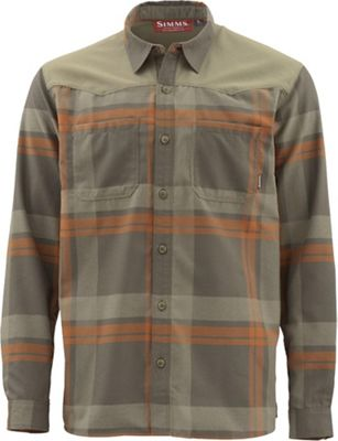 Simms Men's Blacks Ford Flannel LS Shirt