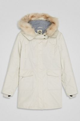 Hoodlamb Women's Fur Collar Parka