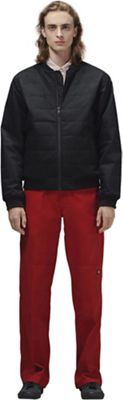 Hoodlamb Men's Quilted Bomber Jacket