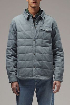 Hoodlamb Men's Quilted Jacket Shirt