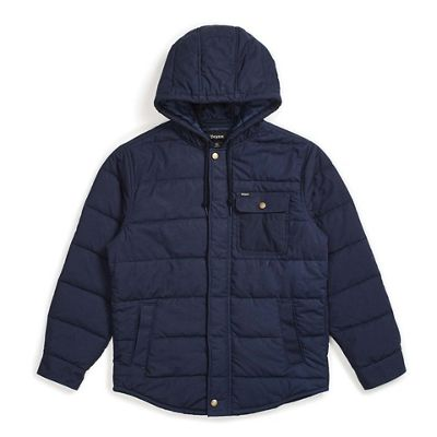 Brixton Men's Cass Hooded Jacket