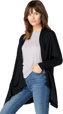 Beyond Yoga Women's Ribbed Draped Cardigan