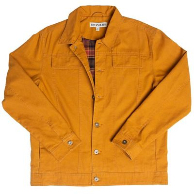Roamers Men's Flannel Lined Seawall Trucker Jacket