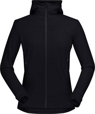 Norrona Women's Falketind Warmwool2 Stretch Zip Hoodie