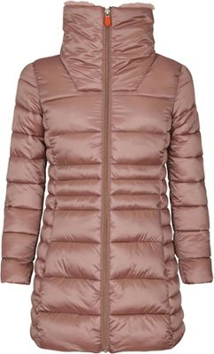 Save The Duck Signature Girls' Coat With Faux Fur