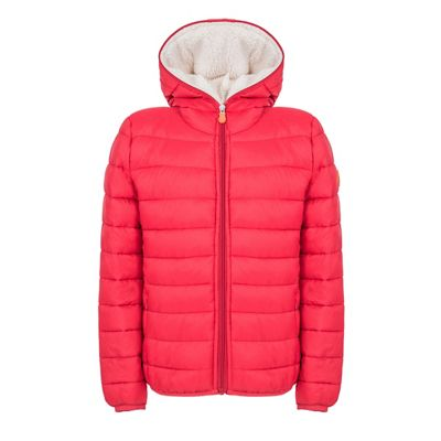 Save The Duck Boys' Hooded Sherpa Jacket