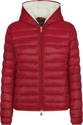 Save The Duck Women's Hooded Sherpa Jacket