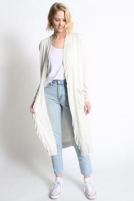 good hYOUman Women's Emmy Duster Cardigan