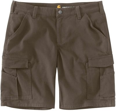 Carhartt Women's Rugged Flex Original Fit Canvas Work Cargo 8 Inch Short