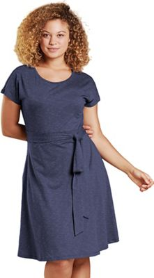 Toad & Co Women's Cue Wrap SS Dress