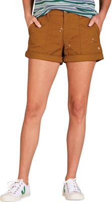 Toad & Co Women's Earthworks Camp 3 Inch Short