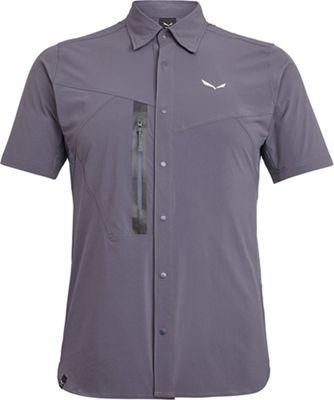 Salewa Men's Puez Hybrid DST Short Sleeve Shirt
