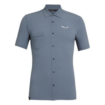 Salewa Men's Puez Minicheck 2 Dry SS Shirt