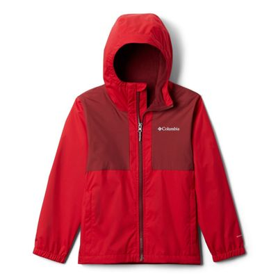Columbia Boys' Rainy Trails Fleece Lined Jacket