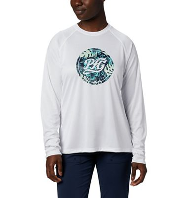 Columbia Women's Tidal Tee PFG Printed Medallion LS Shirt