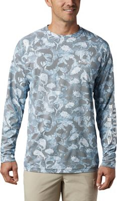 Columbia Men's Terminal Deflector Printed LS Shirt