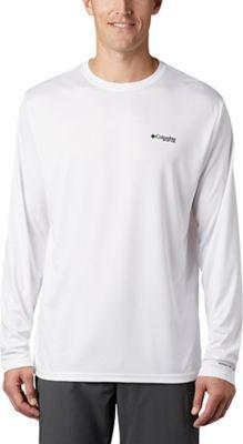 Columbia Men's Terminal Tackle PFG Fish Flag LS Shirt