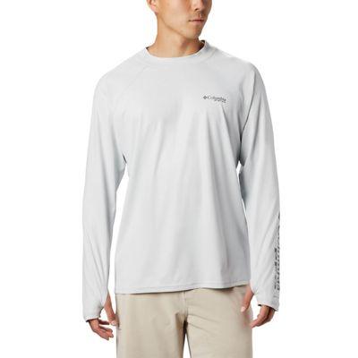 Columbia Men's Terminal Deflector Zero Mock LS Shirt