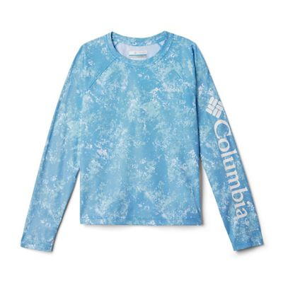 Columbia Youth Solar Chill Printed LS Top