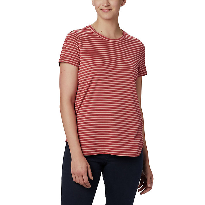 Columbia Womens Firwood Camp Long Sleeve Tee Shirt Moisture Wicking