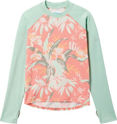 Columbia Youth Sandy Shores Printed LS Sunguard Top