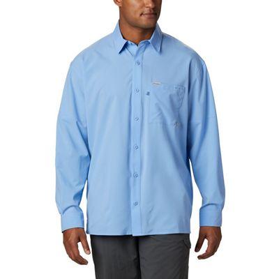 Columbia Men's PFG Zero Rules Woven LS Shirt