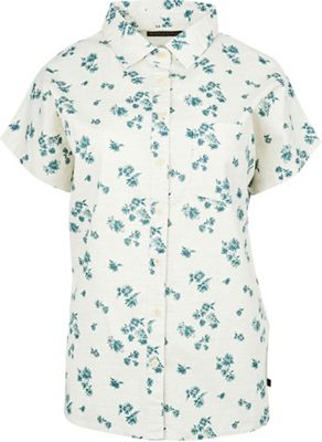 United By Blue Women's Natural SS Button Down