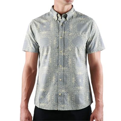United By Blue Men's Natural SS Button Down