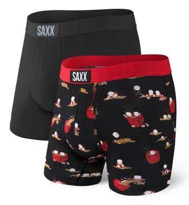 SAXX Men's Vibe 2 Pack Boxer