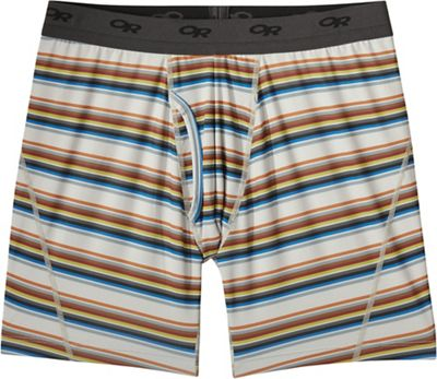 Outdoor Research Men's Next To None 6 Inch Printed Boxer Brief