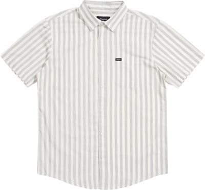 Brixton Men's Charter Stripe S/S Woven Shirt