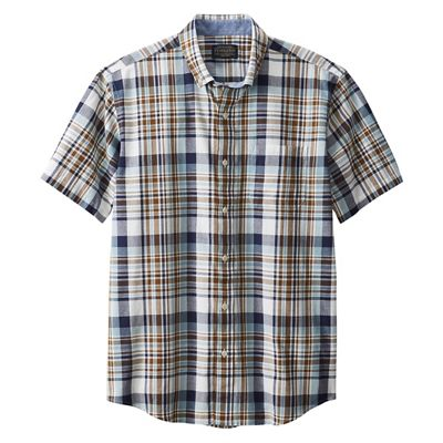 Pendleton Men's Madras SS Shirt