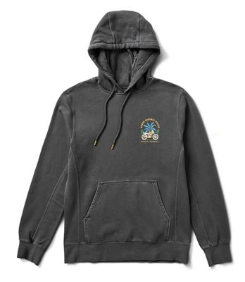 Roark Men's Bengkel Moto Fleece Pullover Hoodie