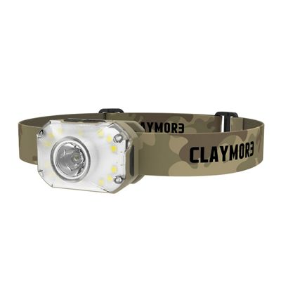 CLAYMORE HEADY2 Rechargeable Headlamp