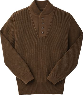 Filson Men's Cotton Henley Guide Sweater