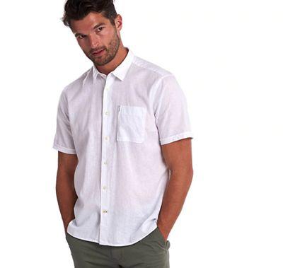 Barbour Men's Linen Mix 1 SS Summer Shirt