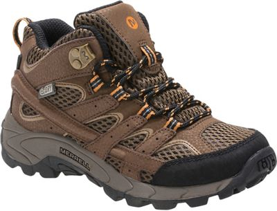 Merrell Youth Moab 2 Mid  A/C Waterproof Boot