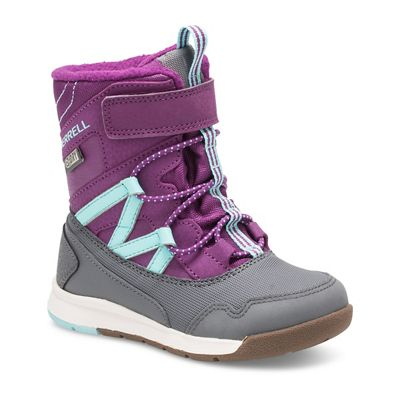 Merrell Kid's Snow Crush Jr Waterproof Boots