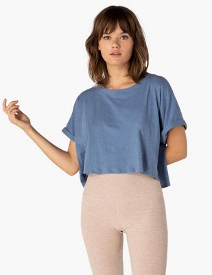 Beyond Yoga Women's Never Been Boxy Tee