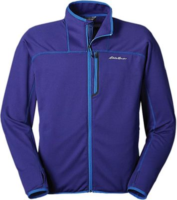 Eddie Bauer First Ascent Men's LS High Route Grid Full Zip
