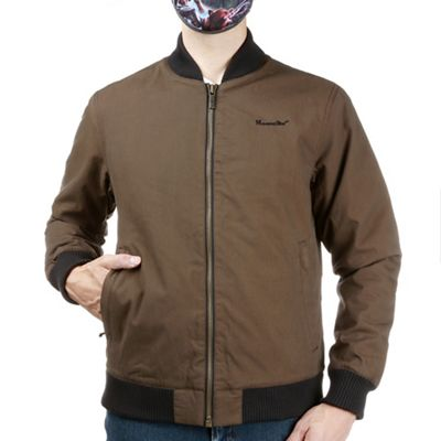 Moosejaw Men's Cadieux Insulated Canvas Bomber Jacket