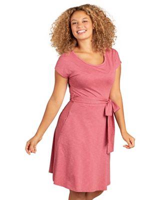 Toad & Co Women's Cue Wrap SS Dress