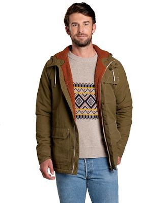 Toad & Co Men's Forester Pass Sherpa Parka