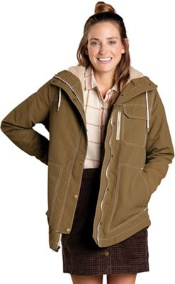 Toad & Co Women's Forester Pass Sherpa Parka